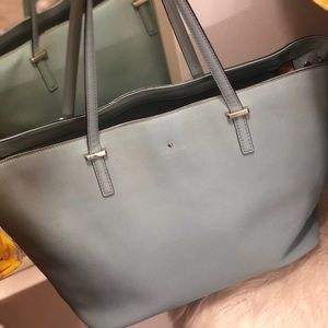 Light blue Kate Spade Medium Tote